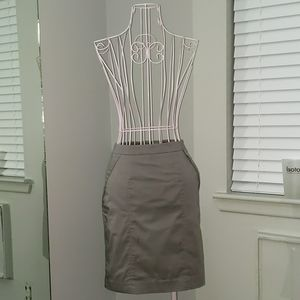 Cargo pencil skirt with pockets